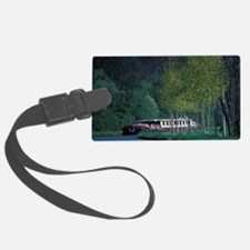 Europe, France, Burgundy, Burgun Luggage Tag