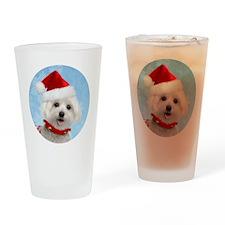 malteseornmnt Drinking Glass