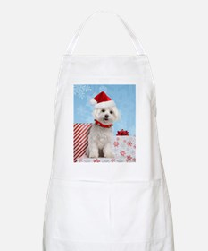 maltesechristmasfront Apron