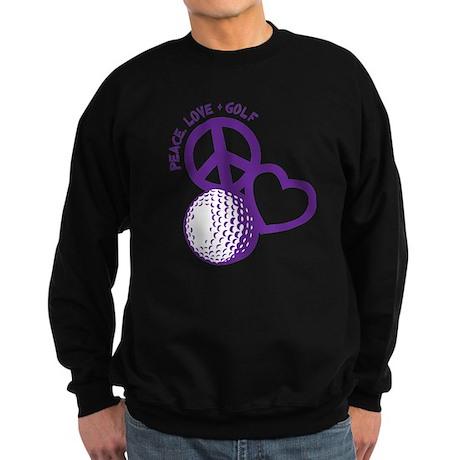 P,L,Golf, violet Sweatshirt (dark)