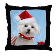 malteset Throw Pillow