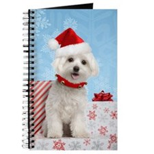 Maltese Christmas Card Journal