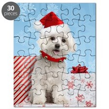 Maltese Christmas Card Puzzle