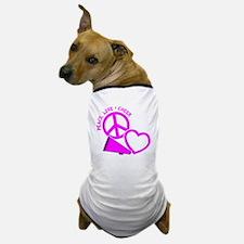 P,L,Cheer, hot pink Dog T-Shirt