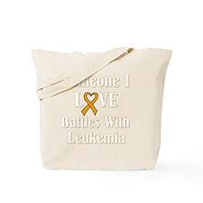 leukemia01-dark Tote Bag