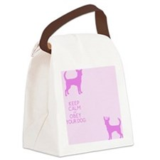 flipfloppink_obey Canvas Lunch Bag