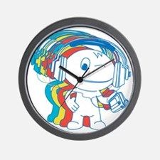 Jamming Rainbow Wall Clock