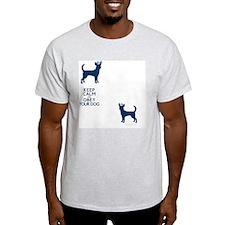 flipfloproyalblue_obey T-Shirt