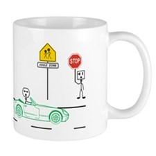 Speed Limit Pie Small Mug