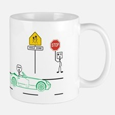 Speed Limit Pie Small Small Mug