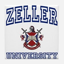 ZELLER University Tile Coaster