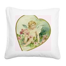 valentine1 Square Canvas Pillow