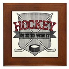 hockey3 Framed Tile