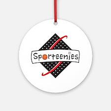 Sporteenies Logo/Brand Round Ornament
