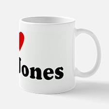 I Love Mike Jones Mug