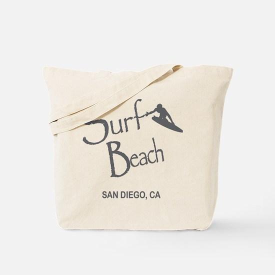Surf Board Tote Bag