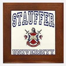 STAUFFER University Framed Tile