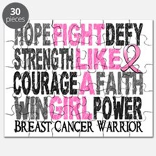 - Fight Like A Girl Breast Cancer 23.4 Puzzle