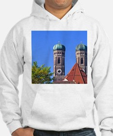 Abstract of Famous Frauenkirche  Hoodie