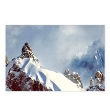 Jagged spires reach for t Postcards (Package of 8)