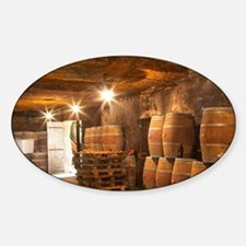 The underground winery and cellar i Decal