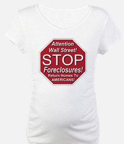 attention_Wall_Street_stop_forec Shirt