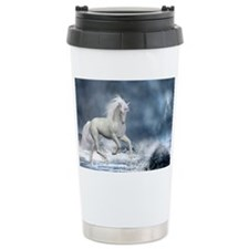 white_unicorn_framed_print_larg Travel Mug