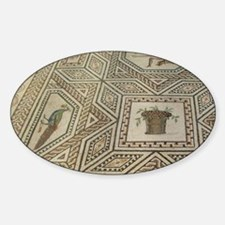 2nd century masterpiece Roman mosai Decal