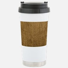 burlap clutch Travel Mug