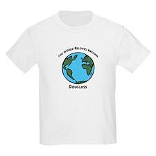 Revolves around Douglass Kids T-Shirt