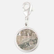 Specimen 3326 Silver Round Charm