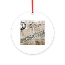 Specimen 3326 Round Ornament