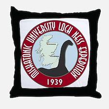 MU Loch Ness 1m Throw Pillow