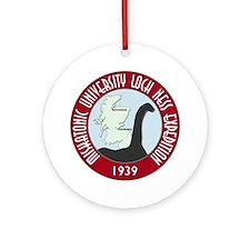 MU Loch Ness 1m Round Ornament
