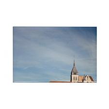 France, Marne, Champagne Region,  Rectangle Magnet