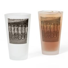 Yale Rowing Team Drinking Glass