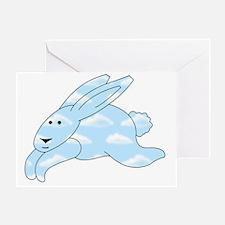 CloudBunny Greeting Card