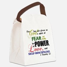 powerLove Canvas Lunch Bag
