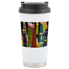 France, Paris, Miniature Eiffel Travel Mug