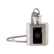 iphone 3g template Flask Necklace