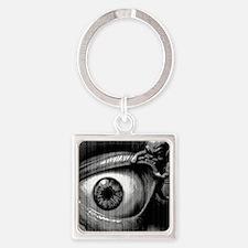 lil demon Square Keychain