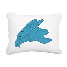 SpiralBunny Rectangular Canvas Pillow