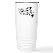 Chainsaw shirt_shadow Ceramic Travel Mug