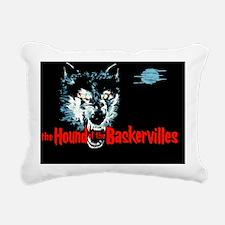 houndofbaskervilles_blac Rectangular Canvas Pillow