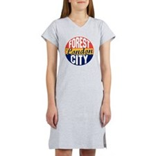 London Vintage Label B Women's Nightshirt
