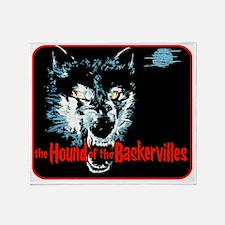 houndofbaskervilles_blank Throw Blanket