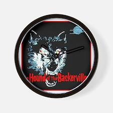 houndofbaskervilles_blank1500 Wall Clock