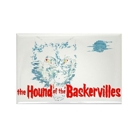 houndofbaskervilles_rect Rectangle Magnet