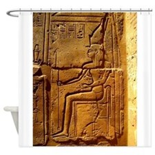 Relief of Pharaoh Shower Curtain