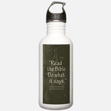 Jody quote-vert-bkgrnd Water Bottle